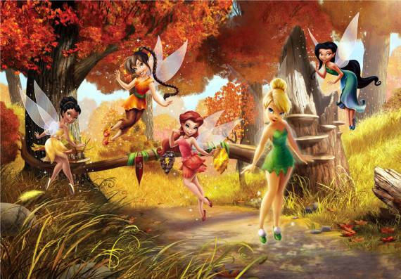 DISNEY TINKERBELL FOREST