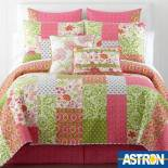 ASTRON ΚΟΥΒΡ-ΛΙ FLORAL FUCHSIA OLIVE